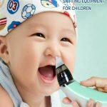 Električni Čistač Aspirator Nosa Za Bebe I Decu 3